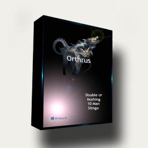 Orthrus Double or Nothing Sitngo Poker Bot
